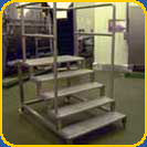 Mobile Stair Platforms